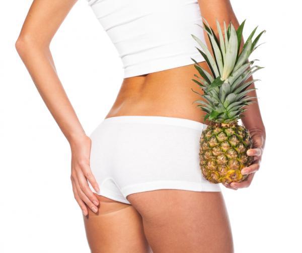 Alimentos para tener un vientre plano - Perder grasa con piña