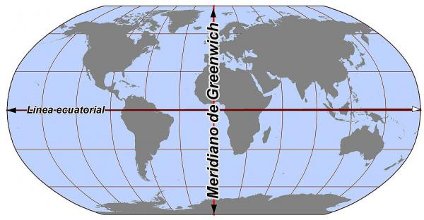Qué países atraviesan el meridiano de Greenwich - Qué es el meridiano de Greenwich