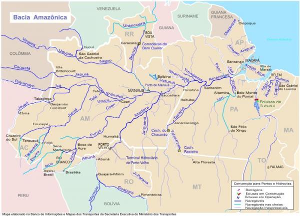 Qué países atraviesa el río Amazonas - Qué países atraviesa el río Amazonas