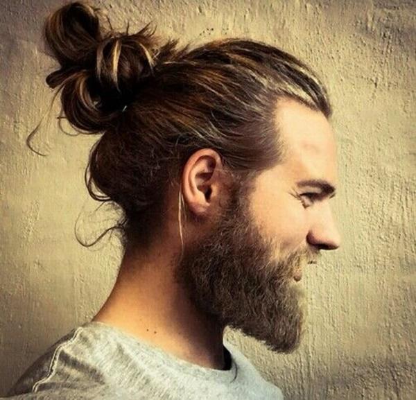 Peinados para hombres con pelo largo - Paso 5