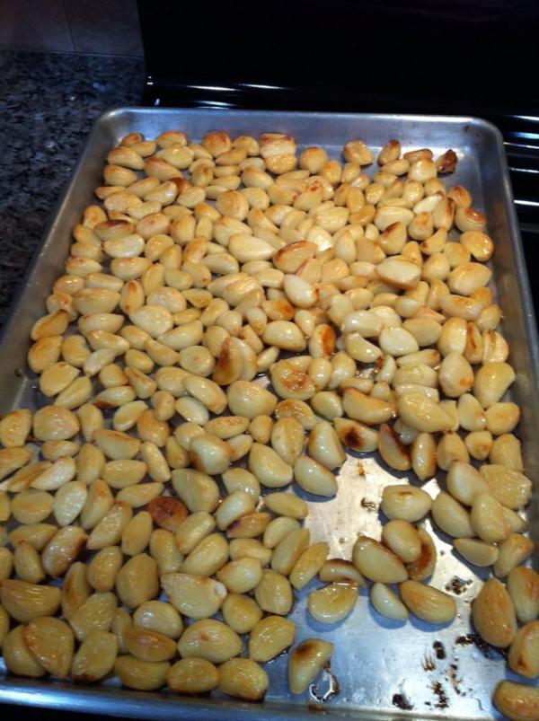 Cómo hacer manteca de ajo asado - Paso 3