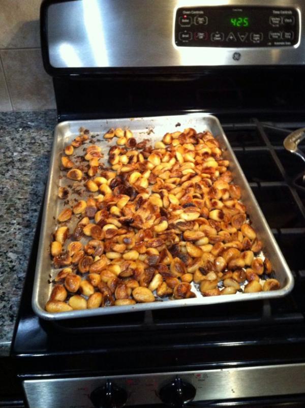 Cómo hacer manteca de ajo asado - Paso 4