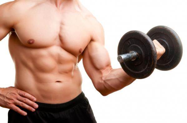 Ejercicios para sacar músculos en los brazos